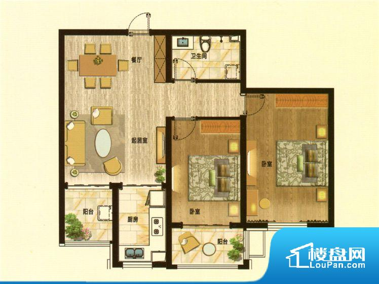 各个空间都很方正,方便后期家具的摆放。客厅、卧室、卫生间和厨房等主要功能间尺寸以及比例合适,方便采光、通风,后期居住方便。公摊相对合理,一般房子公摊基本都在此范畴。日常使用基本满足。