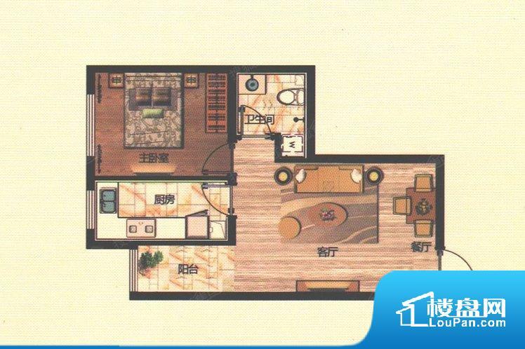 各个空间都很方正,方便后期家具的摆放。整个空间不够通透,不利于空气流通,尤其是夏天会比较热。卫生间如没有窗子,可加管道通风,但是相对来说卫生间有窗户是好的情况,利于排湿,不会使湿气进到室内。厨房门朝向客厅,做饭时油烟对客厅影响较大。客厅、卧室、卫生间和厨房等主要功能间尺寸以及比例合适,方便采光、通风,后期居住方便。公摊高于15%且低于25%,整体得房率不算太高。