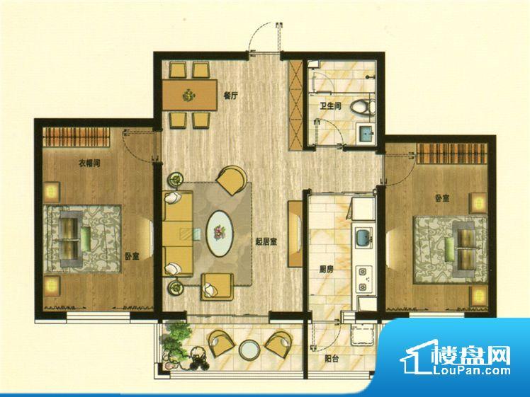 各个空间都很方正,方便后期家具的摆放。卧室位置合理,能够保证足够安静,客厅的声音不会影响卧室的休息;卫生间位置合理,使用起来动线比较合理;厨房位于门口,方便使用和油烟的排出。各个功能区间面积大小都比较合理,后期使用起来比较方便,居住舒适度高。公摊相对合理,一般房子公摊基本都在此范畴。日常使用基本满足。