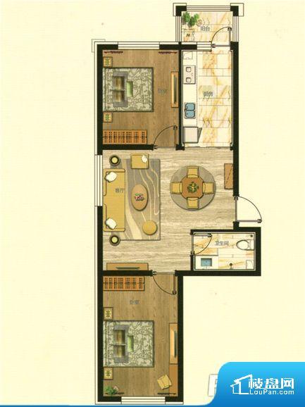 整个空间方正,拐角少,后期利用难度低,提升整个空间的利用率。无对外窗户,通风采光较差,卫生间湿气会加重,不利于身体健康。卧室门朝向客厅,外人可以一目了然的看到卧室,私密性较差。各个功能区间面积大小都比较合理,后期使用起来比较方便,居住舒适度高。公摊相对合理,一般房子公摊基本都在此范畴。日常使用基本满足。