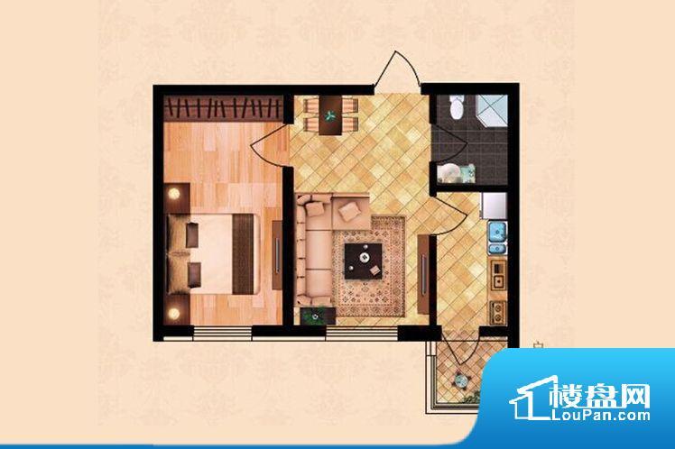 各个空间都很方正,方便后期家具的摆放。整个空间不够通透,不利于空气流通,尤其是夏天会比较热。卫生间如没有窗子,可加管道通风,但是相对来说卫生间有窗户是好的情况,利于排湿,不会使湿气进到室内。卫生间作为重要的空间,距离较远,不方便主人使用。各个功能区间面积大小都比较合理,后期使用起来比较方便,居住舒适度高。