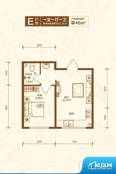 各个空间方正,后期空间利用率高。无对外窗户,通风采光较差,卫生间湿气会加重,不利于身体健康。卫生间门朝向人较多的区域,导致区域空气不好,舒适度差。厨房门朝向客厅,做饭时油烟对客厅影响较大。卫生间和厨房作为重要的功能区间,尺寸合适,能够很好的满足主人生活需求。