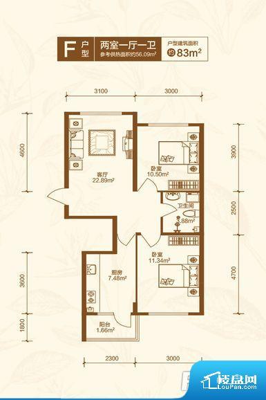 次重要空间不够方正,家具不好摆放,而且容易浪费空间。重要空间非南向或者东向,不能很好的保证采光,居住舒适度不高。无对外窗户,通风采光较差,卫生间湿气会加重,不利于身体健康。厨房门朝向客厅,做饭时油烟对客厅影响较大。