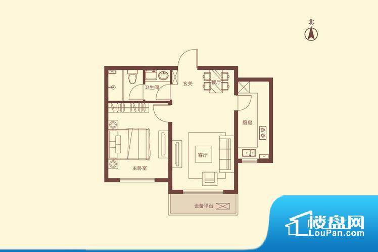 各个空间都很方正,方便后期家具的摆放。无穿堂风,室内空气无法对流,会导致过于潮湿或者干燥。卫生间如没有窗子,可加管道通风,但是相对来说卫生间有窗户是好的情况,利于排湿,不会使湿气进到室内。卧室位置合理,能够保证足够安静,客厅的声音不会影响卧室的休息;卫生间位置合理,使用起来动线比较合理;厨房位于门口,方便使用和油烟的排出。客厅、卧室、卫生间和厨房等主要功能间尺寸以及比例合适,方便采光、通风,后期居