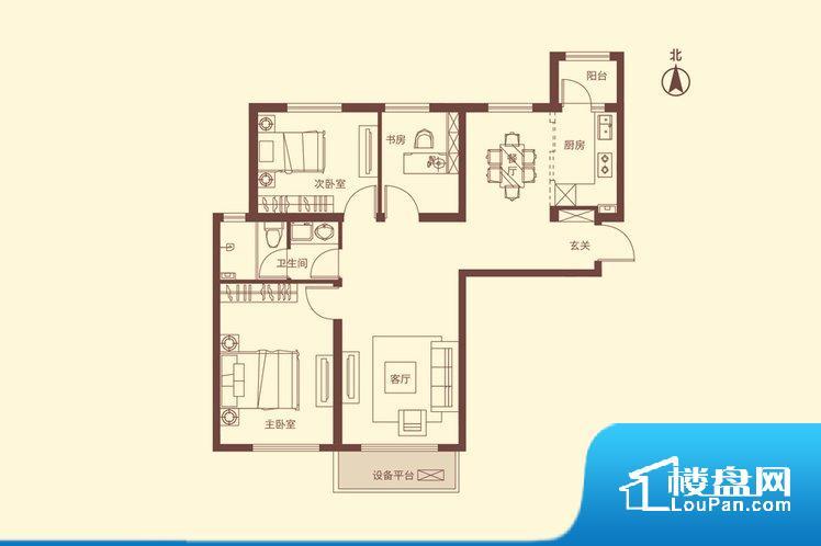 各个空间都很方正,方便后期家具的摆放。全明通透的户型,居住舒适度较高。整个空间有充足的采光,这一点对于后期居住,尤其重要。整个户型空间布局合理,真正做到了干湿分离、动静分离,方便后期生活。卧室作为较为重要的休息空间,尺寸合适,有利于主人更好的休息;客厅作为重要的会客空间,尺寸合适,能够保证主人会客需求。卫生间和厨房作为重要的功能区间,尺寸合适,能够很好的满足主人生活需求。公摊相对合理,一般房子公摊
