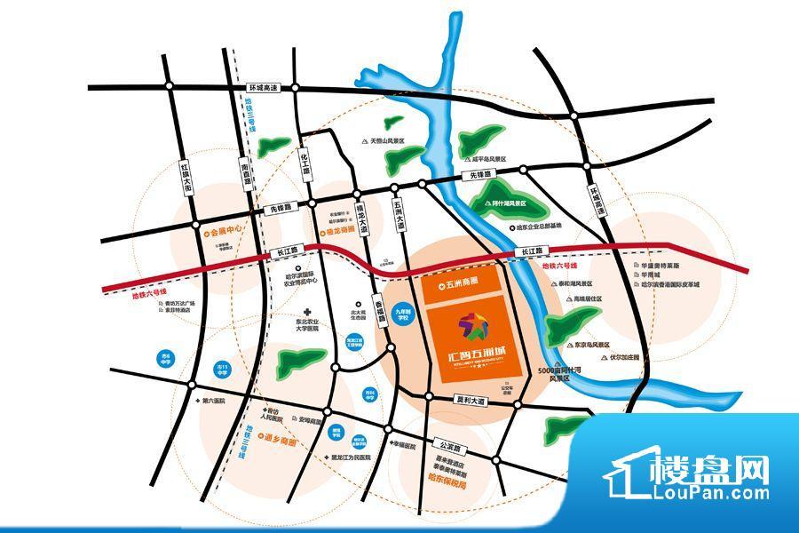 汇智五洲城效果图