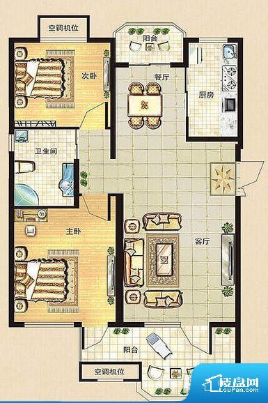白桦林小镇户型图