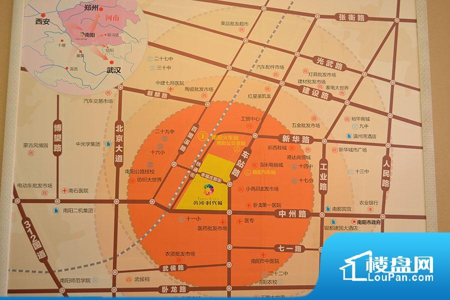 黄河时代城效果图