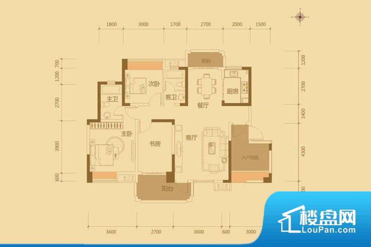 各个空间方正,后期空间利用率高。全明户型,每一个空间都带有窗户,保证后期居住时能够充分采光和透气;通透户型,保证空气能够流通起来,空气质量较好;采光较好,保证居住舒适度。卧室位置合理,能够保证足够安静,客厅的声音不会影响卧室的休息;卫生间位置合理,使用起来动线比较合理;厨房位于门口,方便使用和油烟的排出。客厅、卧室、卫生间和厨房等主要功能间尺寸以及比例合适,方便采光、通风,后期居住方便。公摊相对合