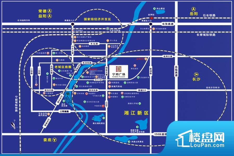 宁邦广场位置图