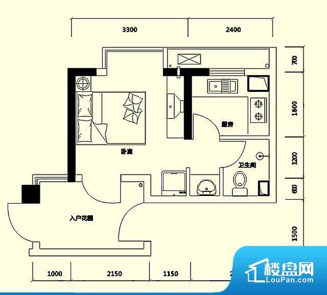 整个空间方正,拐角少,后期利用难度低,提升整个空间的利用率。整个空间采光很好,主卧和客厅均能够保证很好的采光;并且能真正做到全明通透,整个空间空气好。卫生间朝向客厅私密性较差,卫生间朝向餐厅产生的气味及细菌对餐厅影响较大,卫生间朝向卧室,产生的气味对卧室有影响。卫生间空间狭小,洗衣服洗澡空间上比较局促,影响居住的舒适度。公摊高于15%且低于25%,整体得房率不算太高。