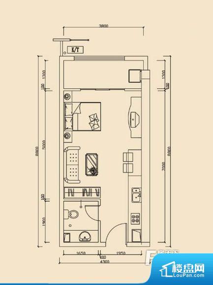 各个空间方正,后期空间利用率高。全明通透的户型,居住舒适度较高。整个空间有充足的采光,这一点对于后期居住,尤其重要。卫生间对餐厅是不太卫生,而且又会有细菌。对着客厅也不太好,有种不太礼貌的感觉。如此感觉户型设计上有硬伤。厨房门对着客厅会有油烟方面的困扰,不过通风好也可以忽略。卫生间太小,无法正常使用,对后期生活造成很大影响。厨房太小,很多器具装配不下,居住使用会感觉降低,觉得十分不方便。公摊相对合