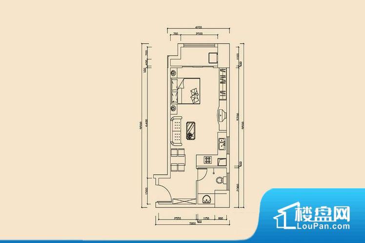 各个空间方正,后期空间利用率高。全明户型,每一个空间都带有窗户,保证后期居住时能够充分采光和透气;通透户型,保证空气能够流通起来,空气质量较好;采光较好,保证居住舒适度。卧室门朝向客厅,外人可以一目了然的看到卧室,私密性较差。卫生间对餐厅是不太卫生,而且又会有细菌。对着客厅也不太好,有种不太礼貌的感觉。如此感觉户型设计上有硬伤。厨房门朝向,做饭产生油烟和噪音对客厅有影响。客厅面宽太窄,后期采光和通