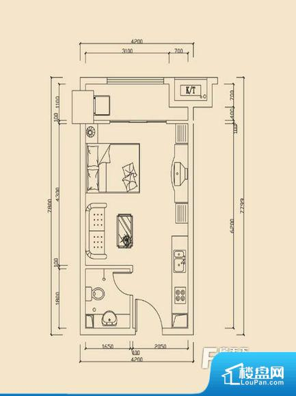 各个空间方正,后期空间利用率高。整个空间采光很好,主卧和客厅均能够保证很好的采光;并且能真正做到全明通透,整个空间空气好。卫生间朝向客厅私密性较差,卫生间朝向餐厅产生的气味及细菌对餐厅影响较大,卫生间朝向卧室,产生的气味对卧室有影响。厨房门朝向,做饭产生油烟和噪音对客厅有影响。卫生间太小,无法正常使用,对后期生活造成很大影响。厨房太小,无法正常使用,后期居住起来存在很大的不便。公摊相对合理,一般房