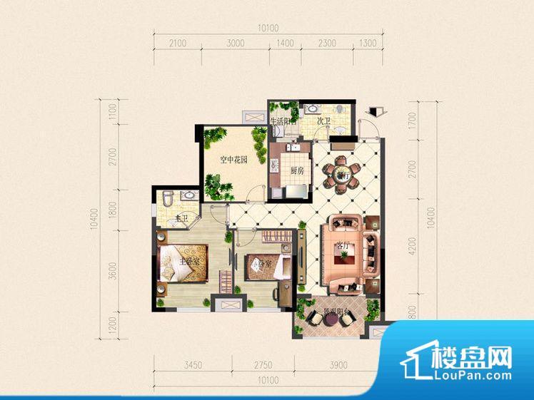 各个空间方正,后期空间利用率高。全明通透的户型,居住舒适度较高。整个空间有充足的采光,这一点对于后期居住,尤其重要。卫生间门朝向人较多的区域,导致区域空气不好,舒适度差。客厅、卧室、卫生间和厨房等主要功能间尺寸以及比例合适,方便采光、通风。