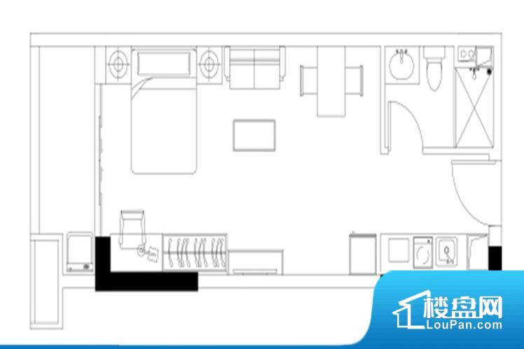 各个空间方正,后期空间利用率高。全明户型,每一个空间都带有窗户,保证后期居住时能够充分采光和透气;通透户型,保证空气能够流通起来,空气质量较好;采光较好,保证居住舒适度。卧室位置合理,能够保证足够安静,客厅的声音不会影响卧室的休息;卫生间位置合理,使用起来动线比较合理;厨房位于门口,方便使用和油烟的排出。卧室作为较为重要的休息空间,尺寸合适,有利于主人更好的休息;客厅作为重要的会客空间,尺寸合适,