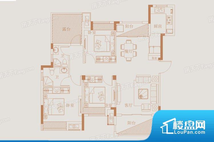 各个空间都很方正,方便后期家具的摆放。全明通透的户型,居住舒适度较高。整个空间有充足的采光,这一点对于后期居住,尤其重要。整个户型空间布局合理,真正做到了干湿分离、动静分离,方便后期生活。客厅、卧室、卫生间和厨房等主要功能间尺寸以及比例合适,方便采光、通风,后期居住方便。