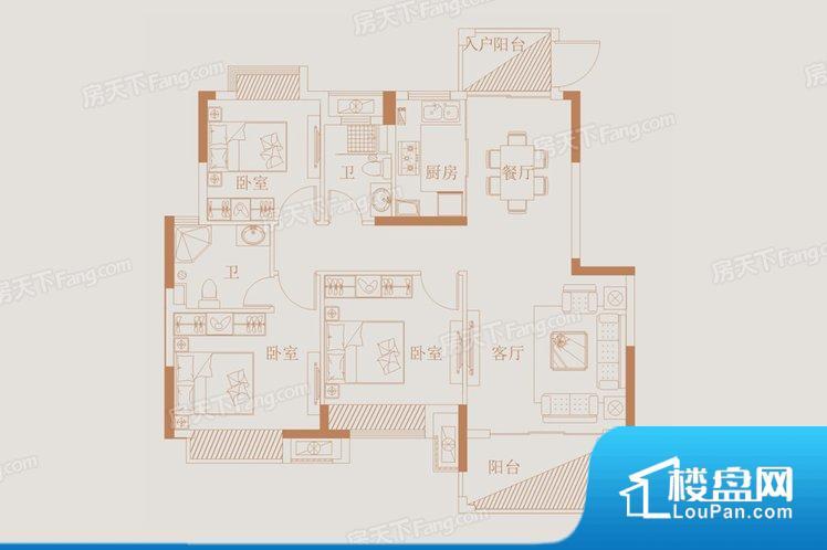 各个空间都很方正,方便后期家具的摆放。整个空间采光很好,主卧和客厅均能够保证很好的采光;并且能真正做到全明通透,整个空间空气好。整个户型空间布局合理,真正做到了干湿分离、动静分离,方便后期生活。客厅、卧室、卫生间和厨房等主要功能间尺寸以及比例合适,方便采光、通风,后期居住方便。