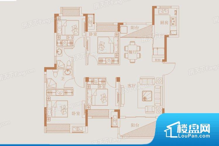 整个空间方正,拐角少,后期利用难度低,提升整个空间的利用率。全明通透的户型,居住舒适度较高。整个空间有充足的采光,这一点对于后期居住,尤其重要。厨卫等重要的使用较为频繁的空间布局合理,方便使用,并且能够保证整个空间的空气质量。各个功能区间面积大小都比较合理,后期使用起来比较方便,居住舒适度高。