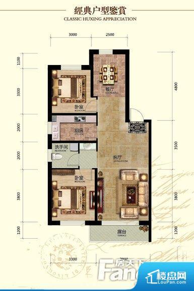 各个空间都很方正,方便后期家具的摆放。全明通透的户型,居住舒适度较高。整个空间有充足的采光,这一点对于后期居住,尤其重要。厨卫等重要的使用较为频繁的空间布局合理,方便使用,并且能够保证整个空间的空气质量。各个功能区间面积大小都比较合理,后期使用起来比较方便,居住舒适度高。