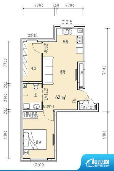 各个空间方正,后期空间利用率高。全明户型,每一个空间都带有窗户,保证后期居住时能够充分采光和透气;通透户型,保证空气能够流通起来,空气质量较好;采光较好,保证居住舒适度。厨房在整个空间比较深的位置,一方面使用不便,另一方面使用时油烟对整个家里的空气影响较大各个功能区间面积大小都比较合理,后期使用起来比较方便,居住舒适度高。