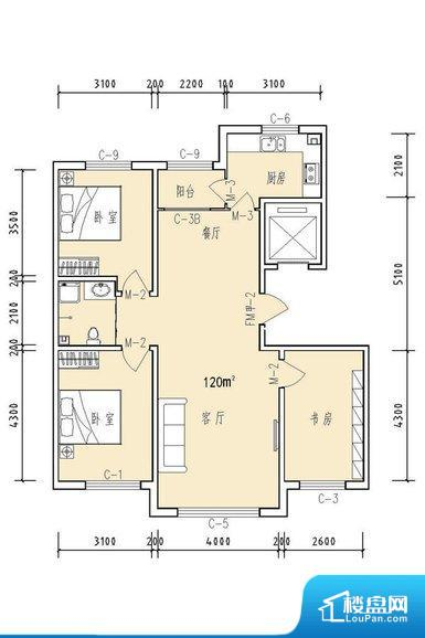 整个空间方正,拐角少,后期利用难度低,提升整个空间的利用率。无对外窗户,通风采光较差,卫生间湿气会加重,不利于身体健康。厨卫等重要的使用较为频繁的空间布局合理,方便使用,并且能够保证整个空间的空气质量。卧室作为较为重要的休息空间,尺寸合适,有利于主人更好的休息;客厅作为重要的会客空间,尺寸合适,能够保证主人会客需求。卫生间和厨房作为重要的功能区间,尺寸合适,能够很好的满足主人生活需求。