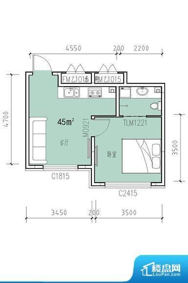 各个空间方正,后期空间利用率高。整个空间不够通透,不利于空气流通,尤其是夏天会比较热。整个户型空间布局合理,真正做到了干湿分离、动静分离,方便后期生活。客厅、卧室、卫生间和厨房等主要功能间尺寸以及比例合适,方便采光、通风,后期居住方便。