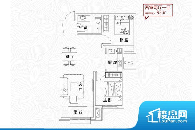 各个空间方正,后期空间利用率高。整个空间不够通透,不利于空气流通,尤其是夏天会比较热。主卧无卫生间,客卫在公共位置,自然主人需要和其他人共用,难免会发生不够用的情况。客厅、卧室、卫生间和厨房等主要功能间尺寸以及比例合适,方便采光、通风,后期居住方便。公摊高于15%且低于25%,整体得房率不算太高。