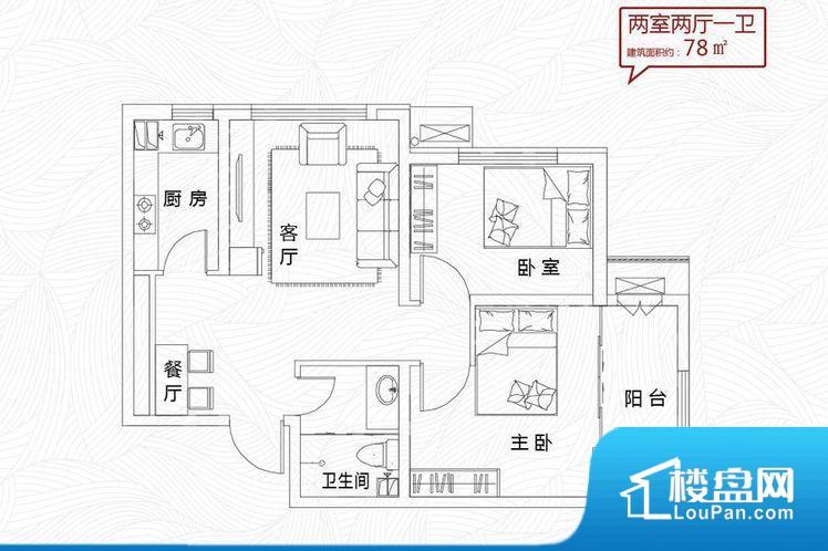 整个空间方正,拐角少,后期利用难度低,提升整个空间的利用率。无穿堂风,室内空气无法对流,会导致过于潮湿或者干燥。卫生间作为重要的空间,距离较远,不方便主人使用。卫生间朝向客厅私密性较差,卫生间朝向餐厅产生的气味及细菌对餐厅影响较大,卫生间朝向卧室,产生的气味对卧室有影响。各个功能区间面积大小都比较合理,后期使用起来比较方便,居住舒适度高。公摊高于15%且低于25%,整体得房率不算太高。