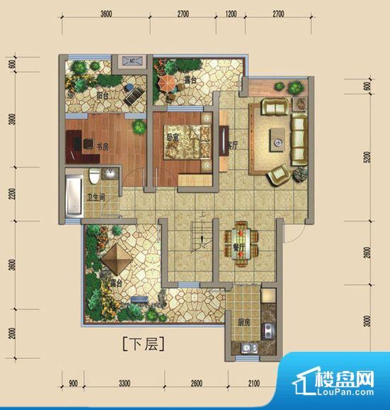 滨江又一城户型图