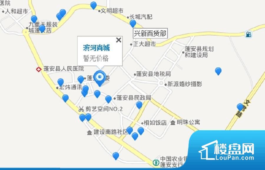 滨河尚城效果图