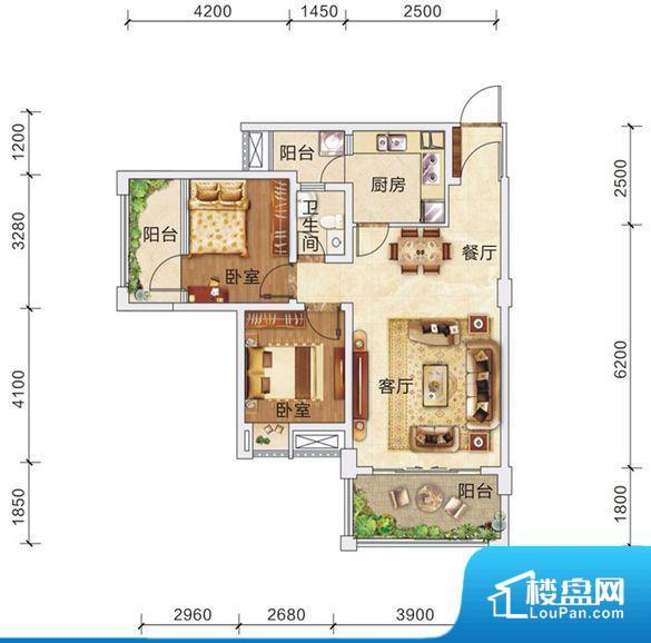 宏宇·心悦国际户型图