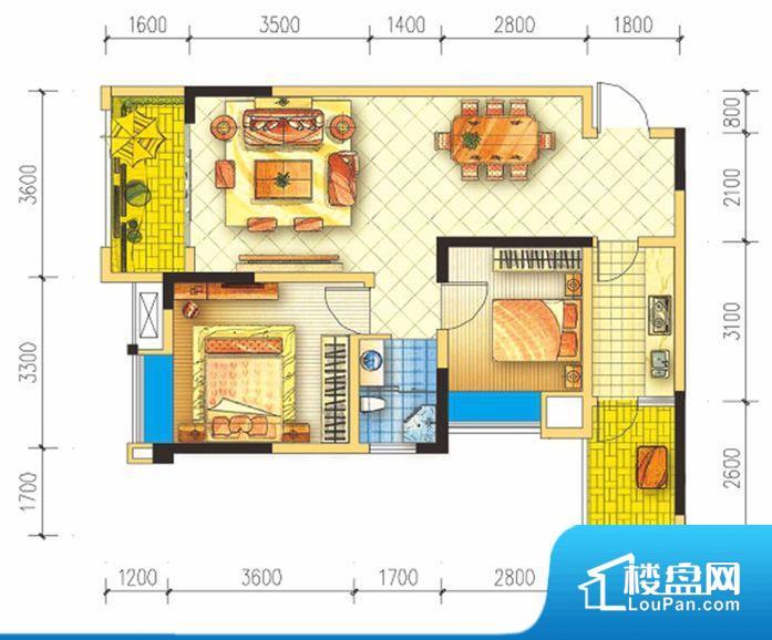 滨江·天乙广场户型图