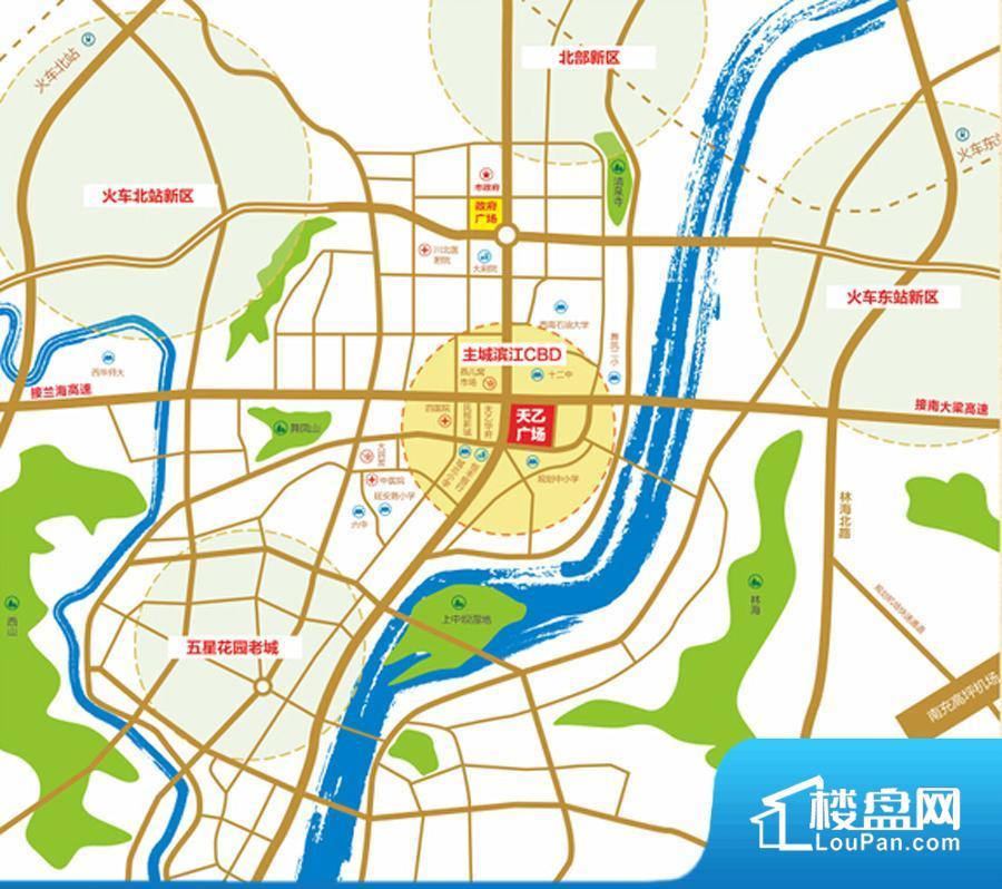 滨江·天乙广场效果图