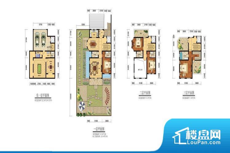 双拼S-255.06平米 ,妙藏私趣层(负一层)建筑面积约122.93㎡(不含车位):设置私家地下双车库,停车后通过私家电梯直接入户,开放式地下室设计,超大娱乐空间,巧妙使用,保姆房、洗衣房设置,与主人区有序分隔。 礼仪会客层(一层)建筑面积约为112.12㎡:约200㎡私家花园,收纳一方风景与花香鸟语,入户门廊连接礼仪门厅,蕴藏家族门风,客厅挑空6米,预留私家电梯空间。 家族私享层(二层)建筑面