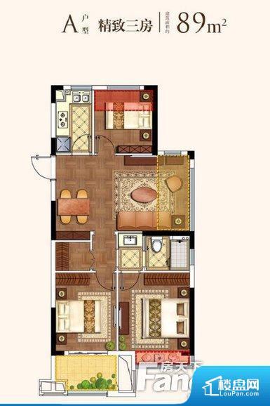 各个空间方正,后期空间利用率高。全明通透的户型,居住舒适度较高。整个空间有充足的采光,这一点对于后期居住,尤其重要。厨卫等重要的使用较为频繁的空间布局合理,方便使用,并且能够保证整个空间的空气质量。卧室作为较为重要的休息空间,尺寸合适,有利于主人更好的休息;客厅作为重要的会客空间,尺寸合适,能够保证主人会客需求。卫生间和厨房作为重要的功能区间,尺寸合适,能够很好的满足主人生活需求