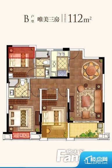 各个空间方正,后期空间利用率高。全明户型,每一个空间都带有窗户,保证后期居住时能够充分采光和透气;通透户型,保证空气能够流通起来,空气质量较好;采光较好,保证居住舒适度。卧室位置合理,能够保证足够安静,客厅的声音不会影响卧室的休息;卫生间位置合理,使用起来动线比较合理;厨房位于门口,方便使用和油烟的排出。客厅、卧室、卫生间和厨房等主要功能间尺寸以及比例合适,方便采光、通风,后期居住方便。