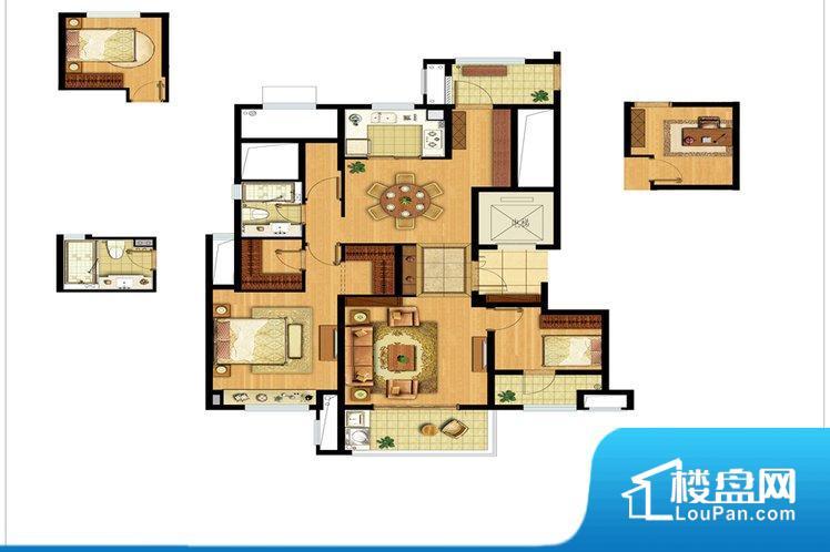 整个空间方正,拐角少,后期利用难度低,提升整个空间的利用率。全明通透的户型,居住舒适度较高。整个空间有充足的采光,这一点对于后期居住,尤其重要。整个户型空间布局合理,真正做到了干湿分离、动静分离,方便后期生活。卧室作为较为重要的休息空间,尺寸合适,有利于主人更好的休息;客厅作为重要的会客空间,尺寸合适,能够保证主人会客需求。卫生间和厨房作为重要的功能区间,尺寸合适,能够很好的满足主人生活需求。