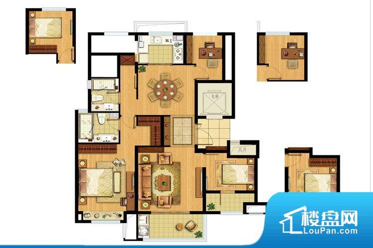 整个空间方正,拐角少,后期利用难度低,提升整个空间的利用率。整个空间采光很好,主卧和客厅均能够保证很好的采光;并且能真正做到全明通透,整个空间空气好。厨卫等重要的使用较为频繁的空间布局合理,方便使用,并且能够保证整个空间的空气质量。客厅、卧室、卫生间和厨房等主要功能间尺寸以及比例合适,方便采光、通风,后期居住方便。
