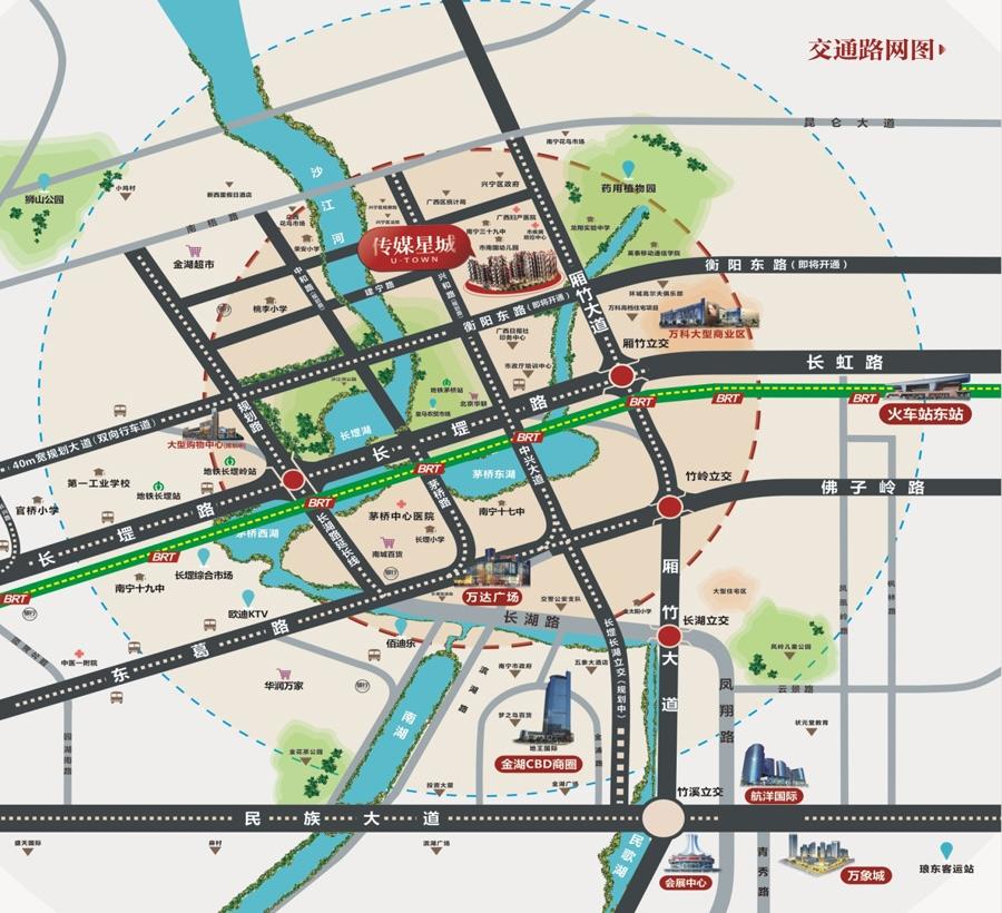 龙基传媒星城位置图