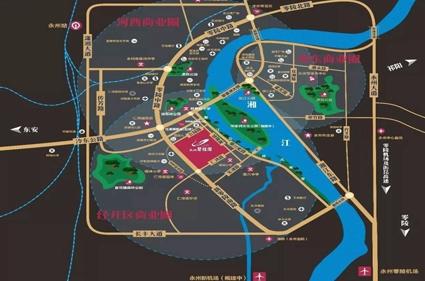 永州碧桂园位置图