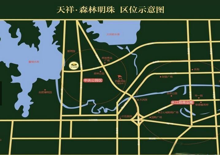 绿地·派克公馆位置图