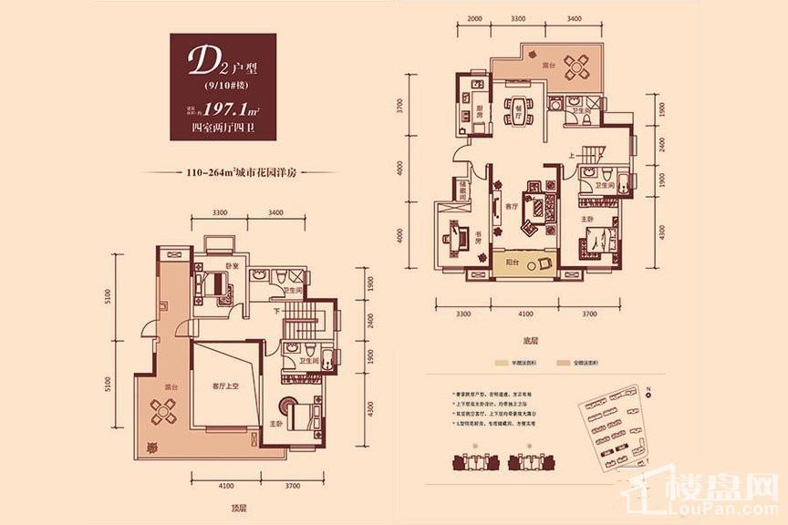 9#10#洋房D2户型