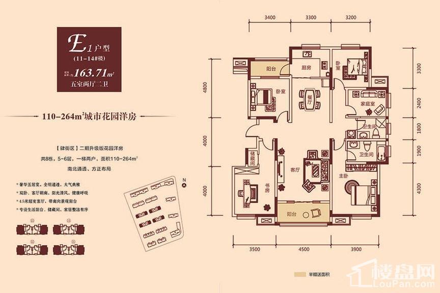 11-14#洋房E1户型