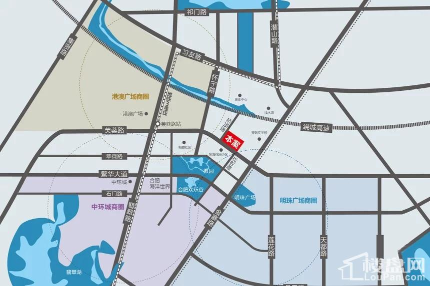 天润国际大厦位置图
