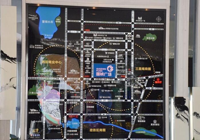 合肥国祯广场位置图