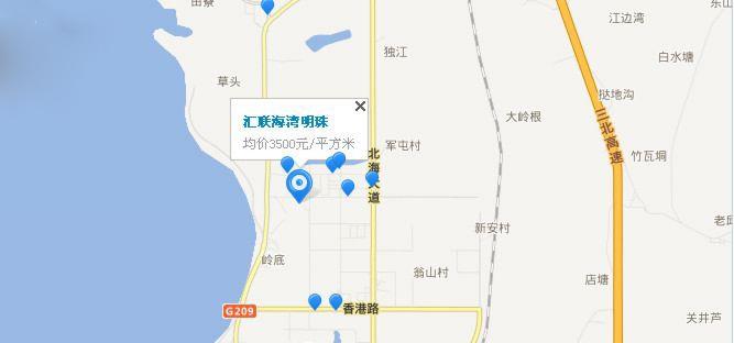 汇联·海湾明珠位置图