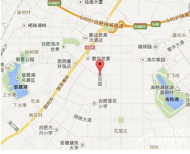 尚泽大都会位置图