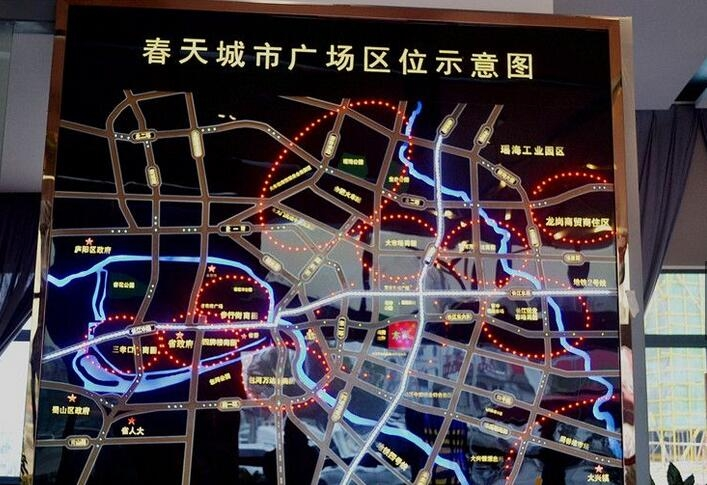 春天城市广场位置图