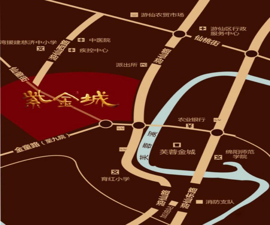 紫金城四期位置图
